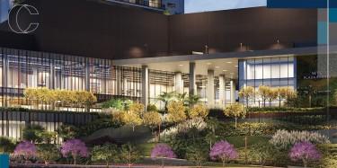 O que é o conceito floresta de bolso do WTC Goiânia?